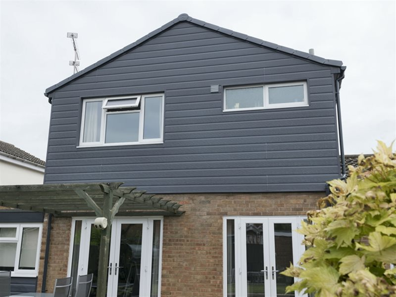 333mm Double Plank Textured Cladding