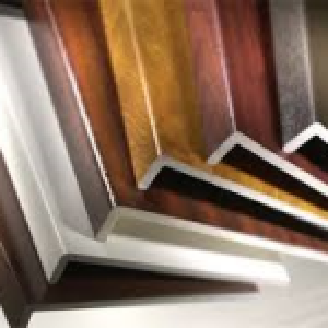 Woodgrain Foiled UPVC Fascia Board