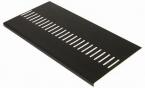 Black Ash Grain Vented Flatboard/Soffit