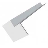 300mm Internal Fascia Corner White