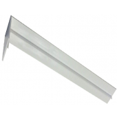 600mm Fascia Joint Double White