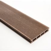 Decking 148mm x 3M Brown Double faced Grooved & Grained