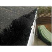 Gutter Brush Guard 4M Black Twister