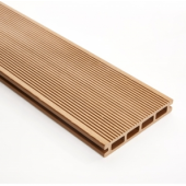 Decking 148mm x 3M Teak Double faced Grooved & Grained