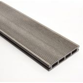 Decking 148mm x 3M Grey Double faced Grooved & Grained
