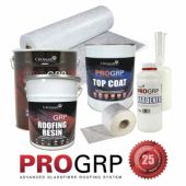GRP Roofing Kit 13M (Resin, topcoat, etc etc included)