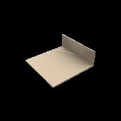 Lacquered aluminium corner profile 3mtr