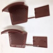 Dry Verge Starter and End Cap Brown (pair)