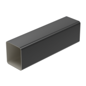 Square Large Downpipe - 80mm x 70mm x 4mtr Anthracite Grey