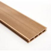 Decking 148mm x 5M Teak Double faced Grooved & Grained
