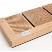 Deck Angle Trim 40x40mm x 3M Teak