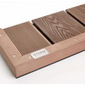 Deck Angle Trim 40x40mm x 3M Brown