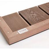 Deck Angle Trim 40x40mm x 5M Brown