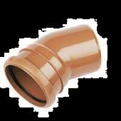 Drainage Bend Single Socket - 30 Degree X 160mm