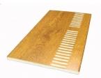 Golden Oak Vented Flatboard/Soffit