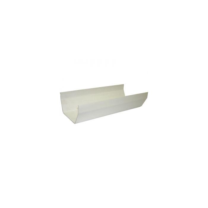 4M Gutter White Square Freeflow