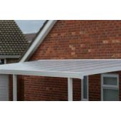 Lean to Canopy 1.6M projection 3M Width Carport White