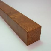 Corner Foiled Golden Oak 300mm